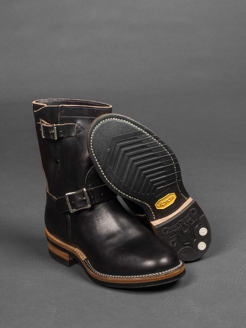 Viberg Engineer Boot - Black Chromexcel