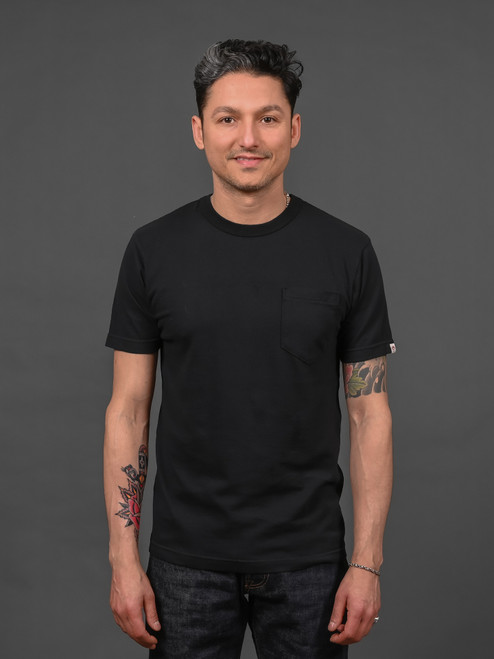 UES Ramayana Pocket T shirt - Black