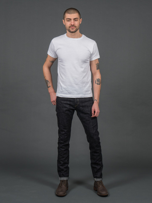 Real Japan Blues x R&H RFR-002 Slim Tapered Jeans - One Wash