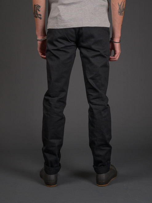 3sixteen Selvedge Chinos - Black