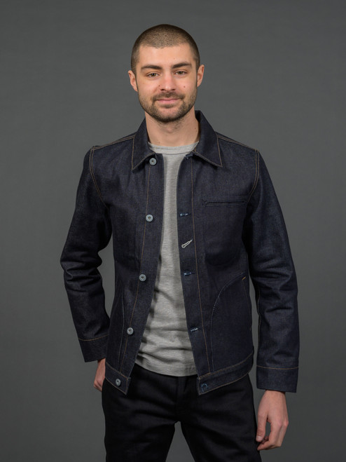 Rogue Territory Supply Jacket - 15 oz Indigo Selvedge