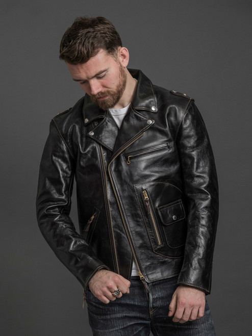 The Flat Head Horsehide Rider's Jacket