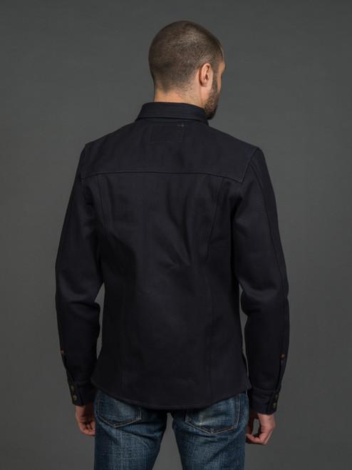 Indigofera Copeland Selvedge Shirt - Indigo/Black