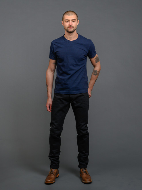Pure Blue Japan XX-013-BB Jeans - Double Black - Slim Tapered