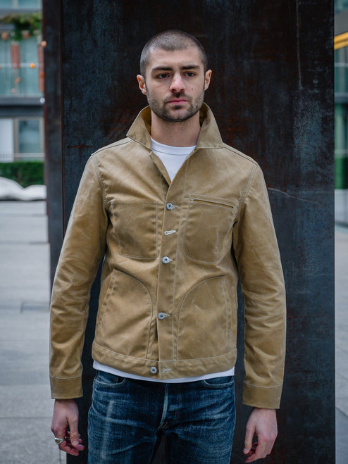 RGT Waxed Canvas Supply Jacket - Tan Ridgeline