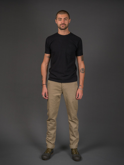 3sixteen Selvedge Chinos - Khaki