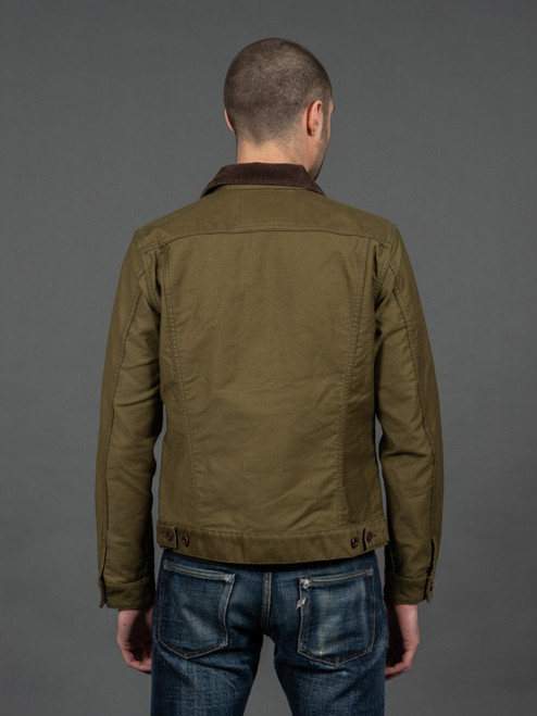 Iron Heart Olive Whipcord Modified Type III Jacket