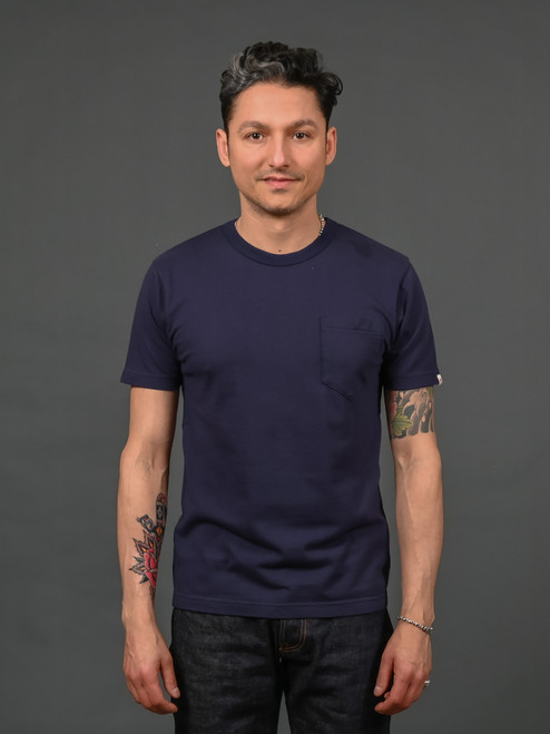 UES Ramayana Pocket T shirt - Navy