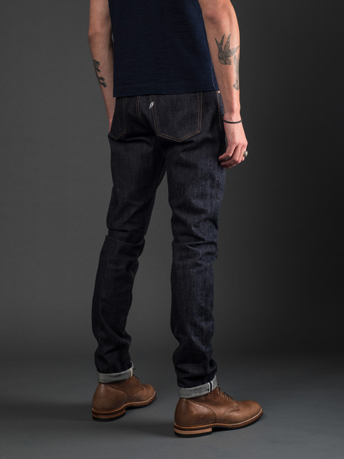 Pure Blue Japan 1143 12 oz. Relaxed Tapered Selvedge Jeans