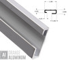 Hanging Systems Wall Rail