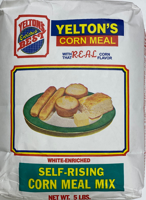Yelton's Best White Self-Rising Corn Meal Mix (5lb)