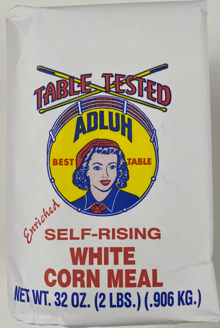 2# Adluh Self-Rising White Corn Meal