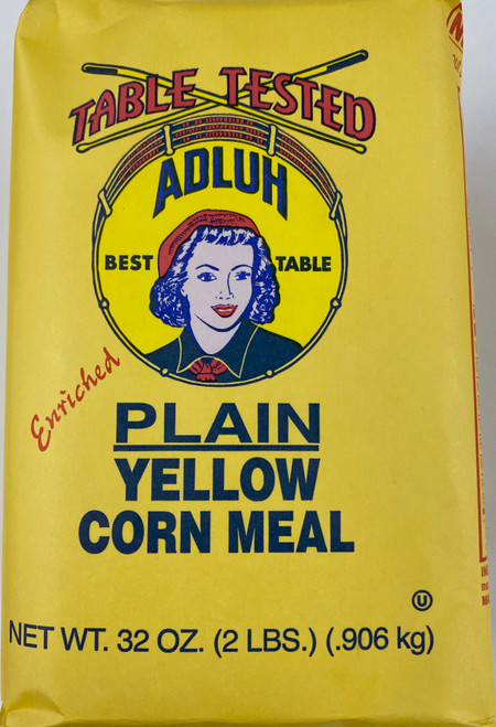 2# Adluh Plain Yellow Corn Meal