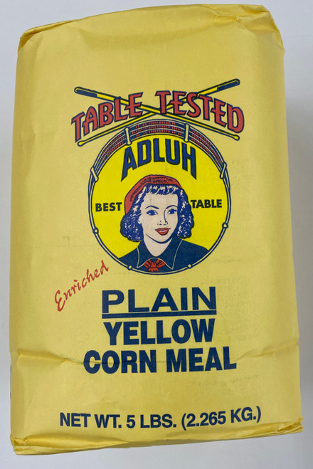 5# Adluh Plain Yellow Corn Meal