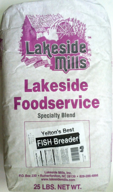 Yelton's Best Fish Breader (25lb) - (USPS Priority Flat Rate shipping not available for this item)