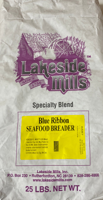 Blue Ribbon Seafood Breader (25lb) - (USPS Priority Flat Rate shipping not available for this item)
