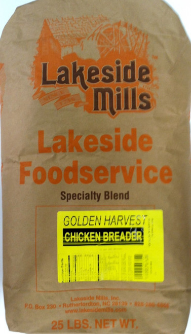 Golden Harvest Chicken Breader (25lb) - (USPS Priority Flat Rate shipping not available for this item)