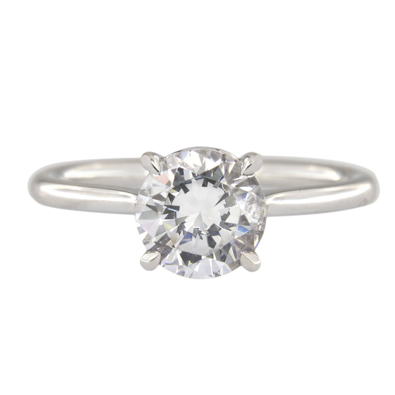 Solitaire Engagement Ring Simple Engagement Ring Diamond Engagement Rings