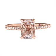 Sapphire Engagement Ring vs Diamond Engagement Ring
