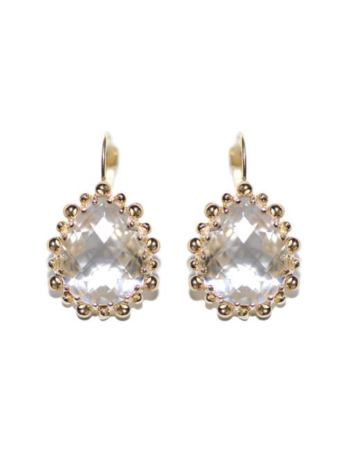 Anzie Dew Drop Pear Drop Earrings   Bridal Earrings