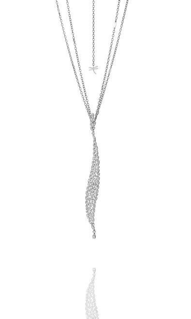 Casato Sexy Leaf Diamond Necklace