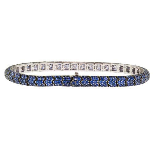 Sapphire Flexible  Bracelet