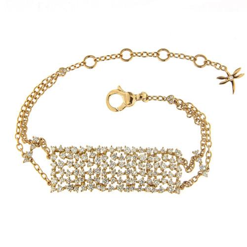 Rectangular Diamond Bracelet