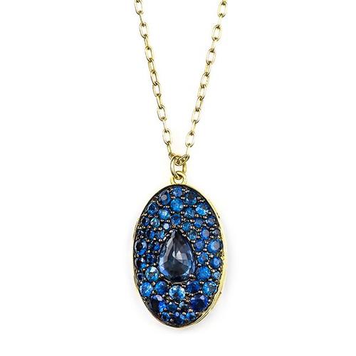 Sapphire Locket