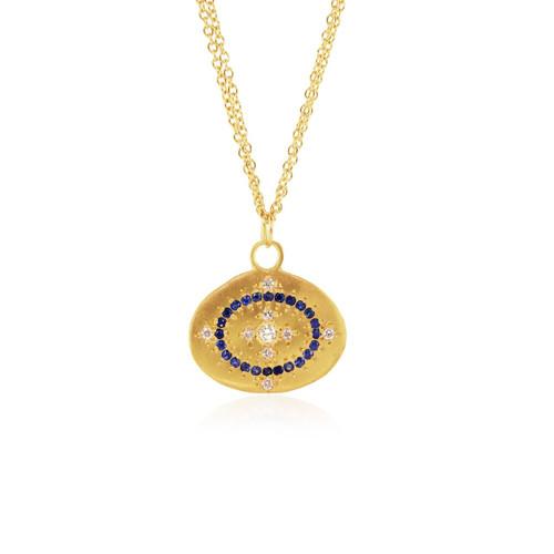 Chefridi Heaven on Earth Sapphire Pendant