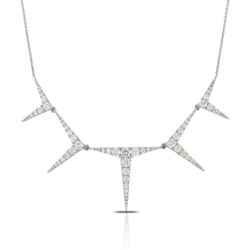 Diamond Stiletto Necklace