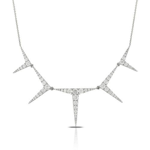 Diamond Stiletto Necklace