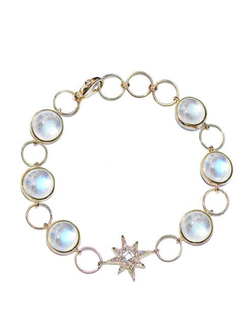 Anzie Moonstone Bracelet