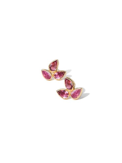 Anzie Mini Bouquet Studs Pink
