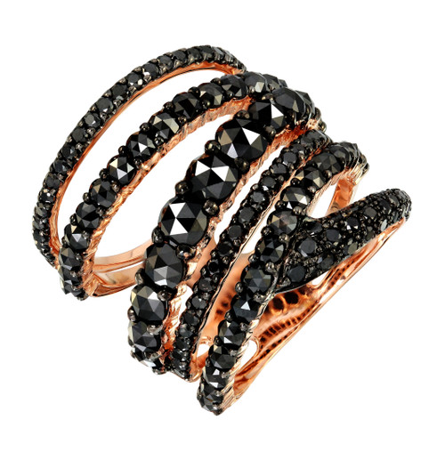 Black Diamond Multiband Ring
