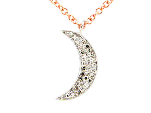 Mini Crescent Moon Pendant
