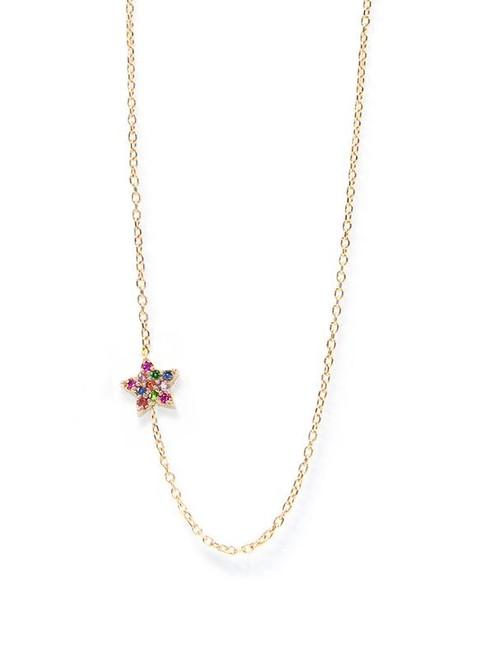 Multi Sapphire Star Pendant