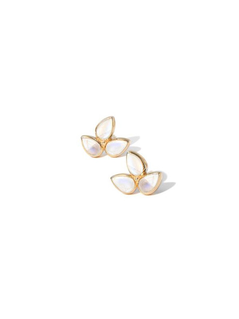 Mini Bouquet Studs Moonstone