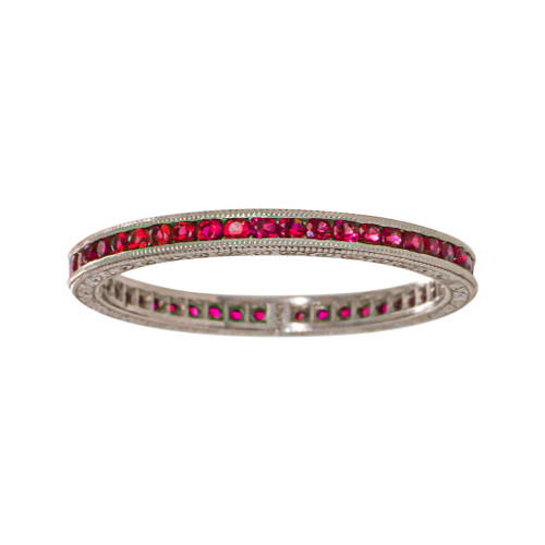 Ruby Channel Eternity Ring