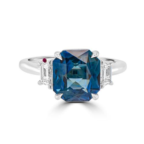 Radiant-blue-sapphire-three-stone-ring