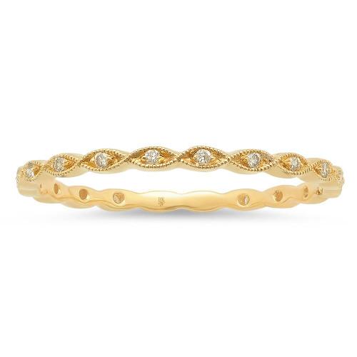 Marquise Diamond Wedding Ring