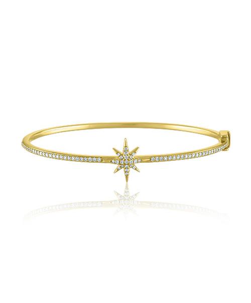 Star Diamond Bangle