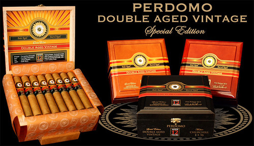 Perdomo Double Aged 12 Year Vintage Cigars Gordo Extra