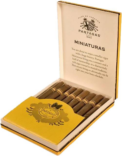 Partagás Miniatures  3.75x24