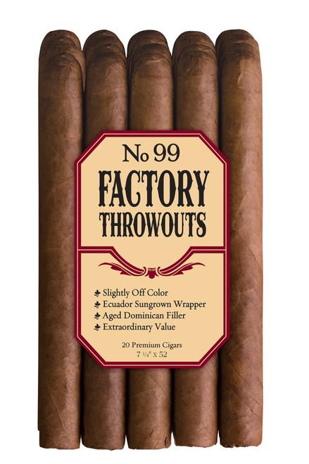 Factory Throwouts Regular No. 99