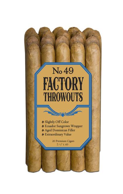 Factory Throwouts Regular No. 49