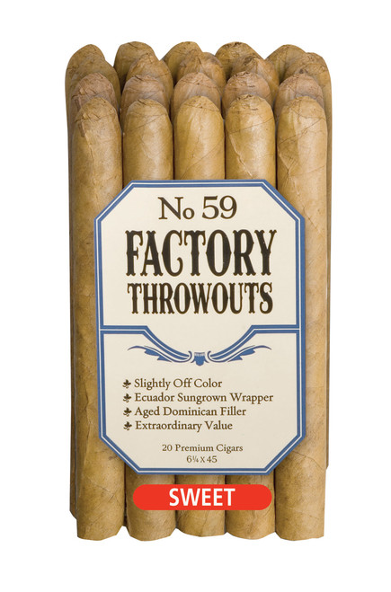 Factory Throwouts Sweet No. 59