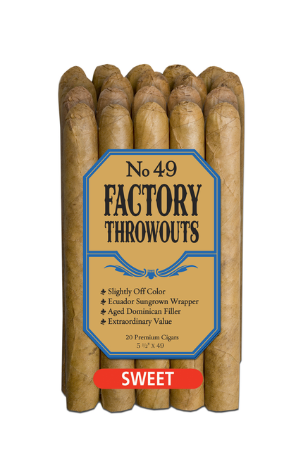 Factory Throwouts Sweet No. 49