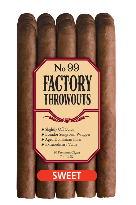 Factory Throwouts Sweet No. 99