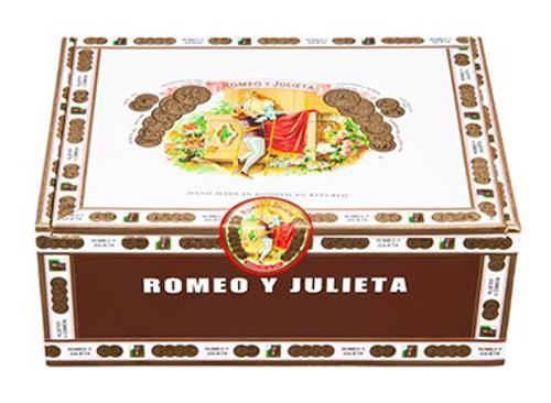Romeo y Julieta 1875 Numero Dos en Tubo 52x6-1/8