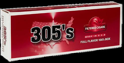 305's Little Filtered Cigars Full Flavor 100's